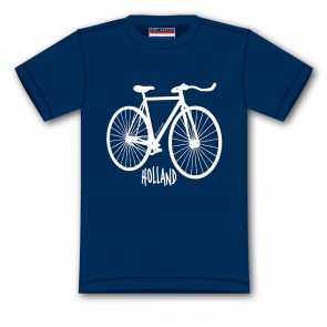 T-shirt bicycle Holland.