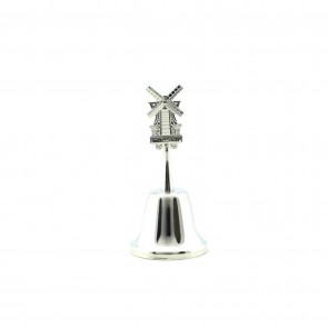 Handbell tin color with windmill Holland.