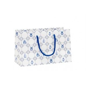 Delft blue gift bag small